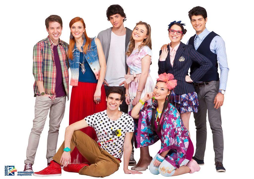 Maggie Bianca Fashion Friends Su Rai Gulp Lo Show Firmato Rainbow