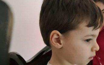 Christian, 3 anni