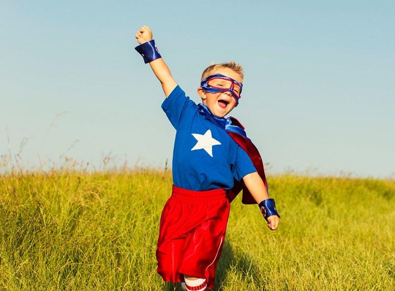 Bambino-superman